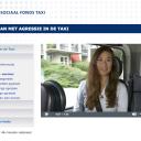 Online cursus, omgaan met agressie in de taxi, Sociaal Fonds Taxi
