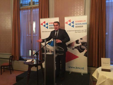 Bertho Eckhardt, KNV, voorzitter, nieuwjaarstoespraak