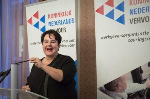 Sharon Dijksma, staatssecretaris, Infrastructuur en Milieu, KNV