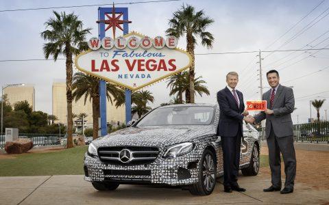 Mercedes-Benz, E-Klasse, E-Class: Self-driving, Nevada, autonoom, zelfrijdend, selfdriving, autonomous car