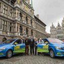 elektrische taxi, Taxi Deurne, België, Vlaanderen, taxichauffeur, Mercedes-Benz B-Klasse Electric Drive