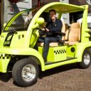 gcab, elektrische taxikarretje