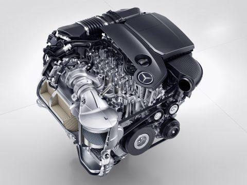 Mercedes-Benz Vierzylinder Premium-Diesel, OM 654, 2016Merced