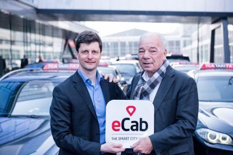 TCA, Richard Olling, eCab, Laurent Kennel, taxi-app, TCA