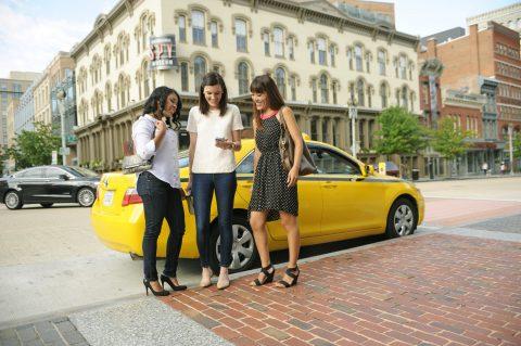 Cab_Women, Yellow Cab, taxi, app