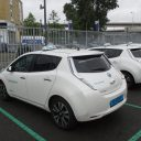 Taxi Electric Nissan Leaf