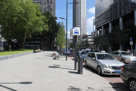 Taxistandplaats, Centraal Station, Rotterdam