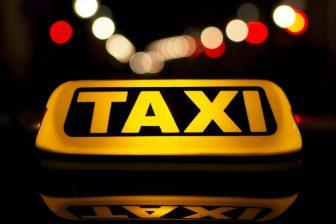 Taxi daklicht