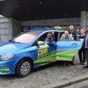 Elektrische taxi Antwerpen