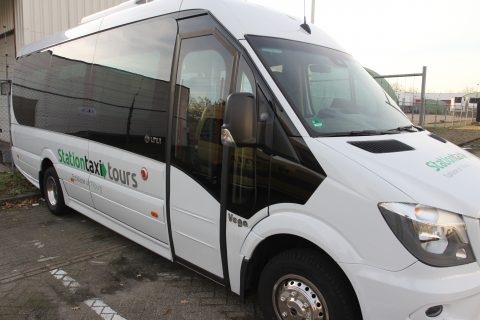 Taxibus 20 personen, Stationtaxi
