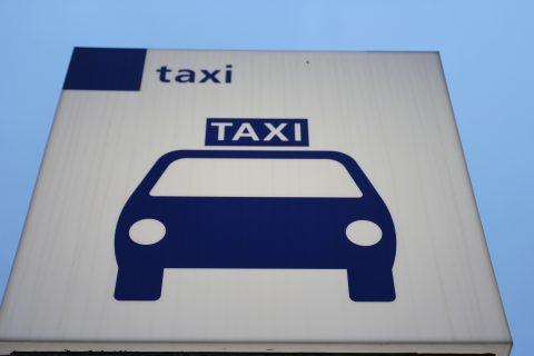 Standplaats taxibord