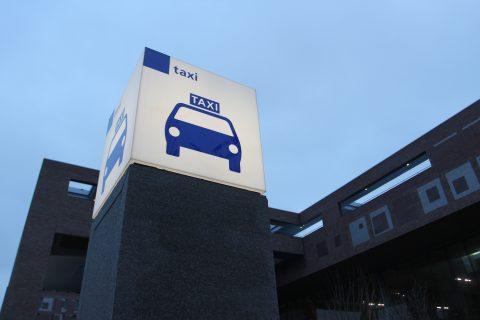 Taxibord standplaats