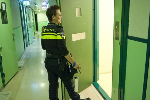 cellencomplex, politie