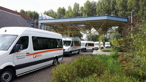 Taxibusjes Wegman