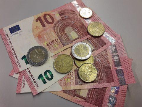 Contant geld, euro
