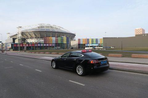 TCA, Tesla. Foto: TCA