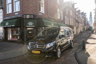 ViaVan in Amsterdam. Foto: Daimler.