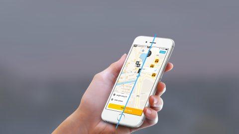 Mytaxi, taxi-app