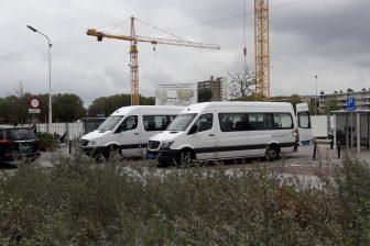 Taxibussen ziekenhuis