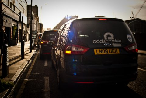 Addison Lee GB ( bron: Flickr/ M W Addison Lee)
