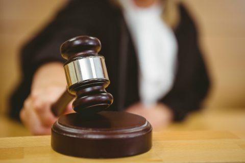 Rechter, rechtbank (kleine versie). Foto: iStock / Wavebreakmedia