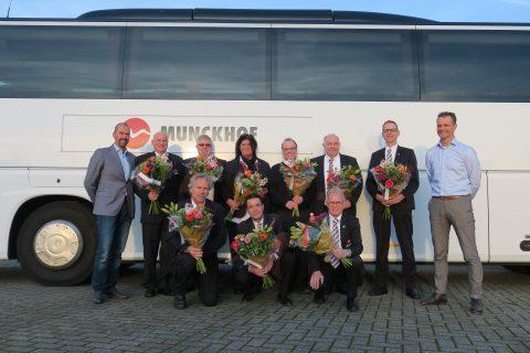 Munckhof, IRU-diploma. Foto: Munckhof