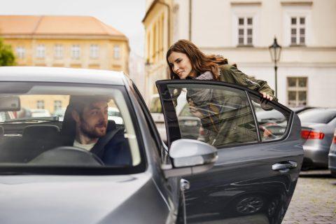 Passagier Uber