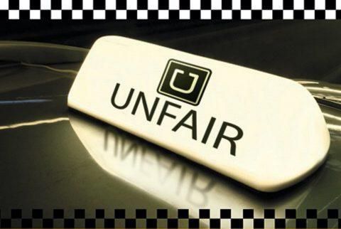 Demonstratie Uber