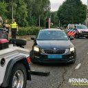 Wegslepen taxi. Foto: Politie Rijnmond Oost