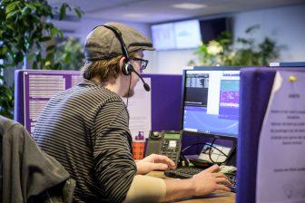 Callcenter Noot. Foto: Jan Reinier van der Vliet Fotografie