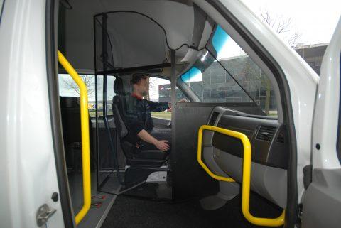 Cabine chauffeur. Foto: Tribus