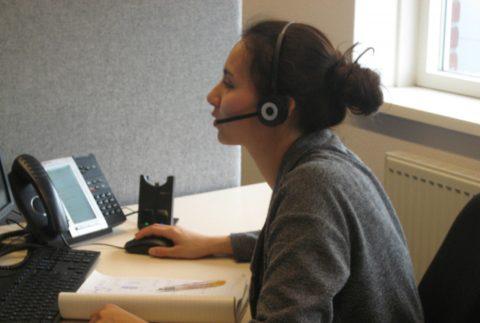 Callcenter DVG