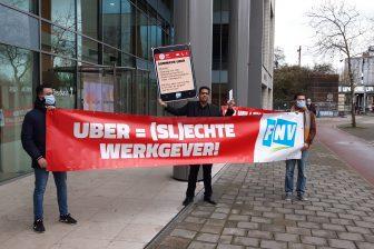FNV sommeert Uber