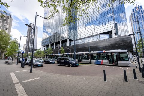 Standplaats Rotterdam CS. Foto: Jan Kok