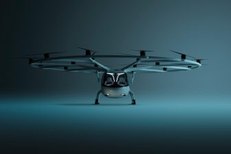 Vliegende taxi Volocopter