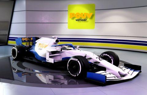 Pouw Vervoer F1 auto